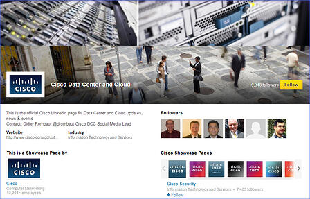 cisco-linkedin-showcase-page