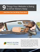 [eGuide] 9 Things Your Website Is Doing to Drive Visitors Away