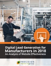 [Research Report] Digital Lead Generation for Manufacturers in 2018: An Analysis of Website Effectiveness