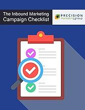 The Inbound Marketing Campaign Checklist