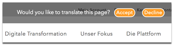 Would you like to translate this page?