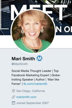 Mari Smith Twitter