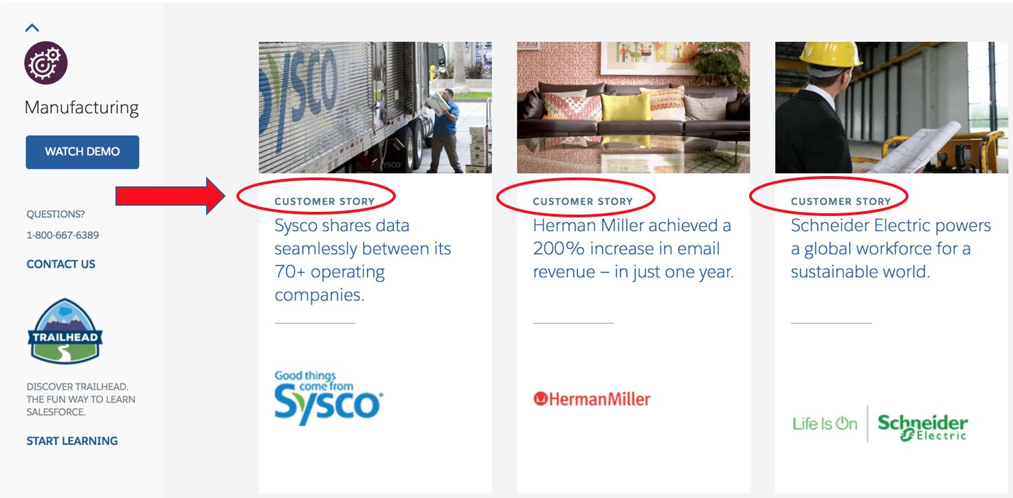 Salesforce Customer Stories