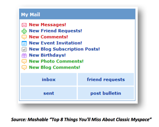 Top 8 Things You'll Miss about Classic Myspace