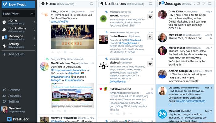 Twitter Marketing Tools: Tweet Deck
