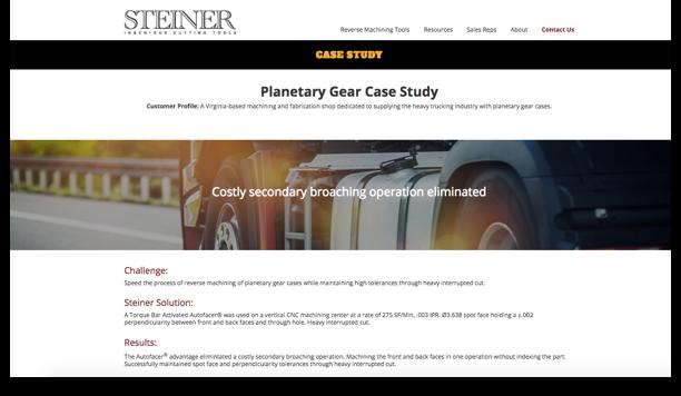 Steiner Technologies Case Study Redesign – After