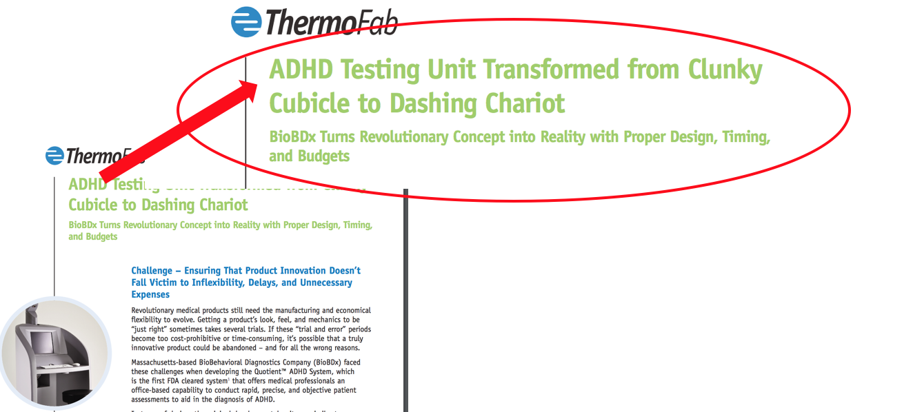 ThermoFab Case Study Title