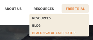 Beacon Value Calculator