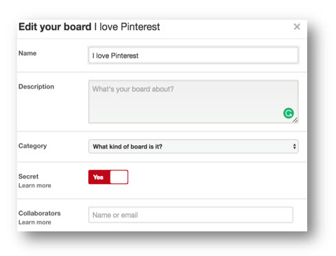 Pinterest Marketing Strategy: Collaborators