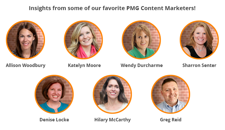 Insights from some of our favorite PMG Content Marketers