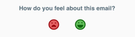 Interactive Email Techniques: Poll Example with Emoticons