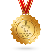 Awarded #7 in Feedspot's Top 100 B2B Marketing Blogs!