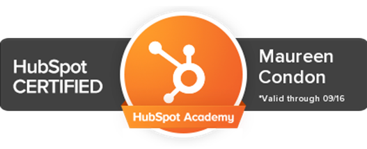 Maureen Condon: HubSpot Certified