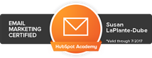 Susan LaPlante-Dube: Email Marketing Certified