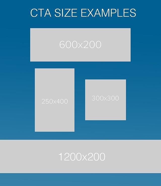 CTA Size Examples