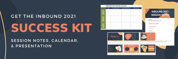 INBOUND 2021 Success Kit Download