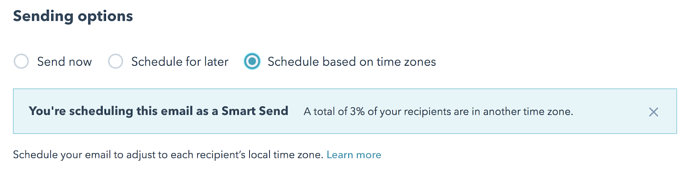 Schedule Your Email Based on Timezones in HubSpot