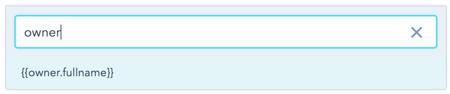 Sending to Contact Owner Token in HubSpot Email