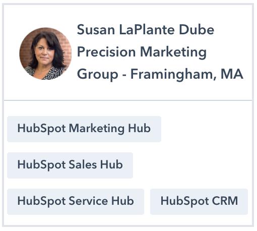 Susan LaPlante-Dube HubSpot Certified Trainer Profile