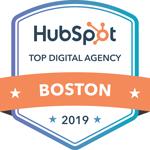 HubSpot 2019 Top Digital Agency in Boston