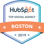 HubSpot 2019 Top Digital Agency in Boston