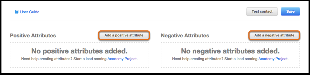 HubSpot Lead Scoring: Positive and Negative Attributes