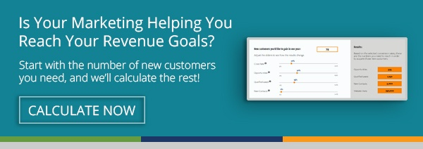 Is Your Marketing Helping You Reach Your Revenue Goals? Try Our Free Calculator!