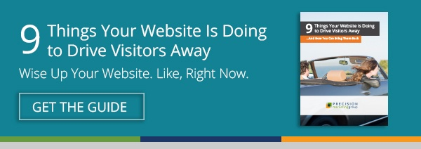 Free Download: 9 Things Your Website Is Doing to Drive Visitors Away
