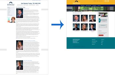Mansfield Sales Partners Website Redesign: Team